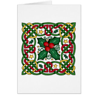 Celtic Christmas Cards | Zazzle