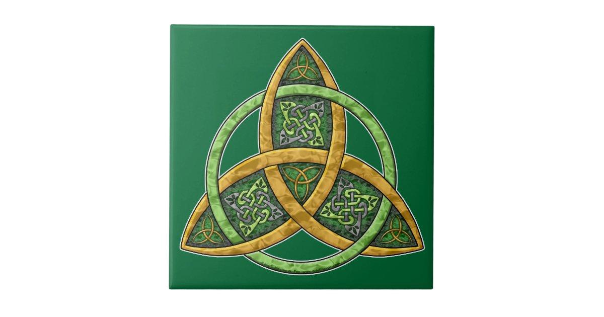 Celtic Trinity Knot Tile Zazzle