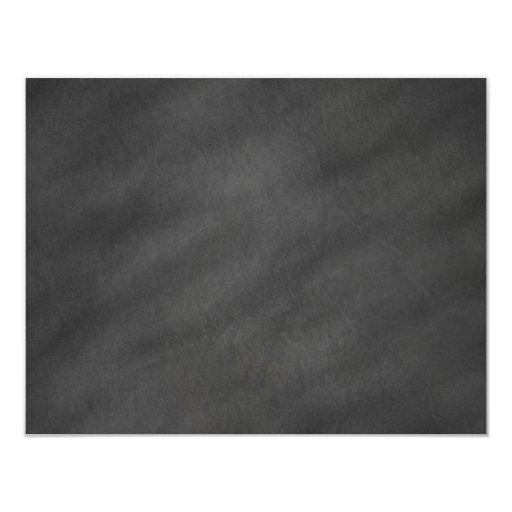 Chalkboard Background Gray Black Chalk Board Blank Card ...