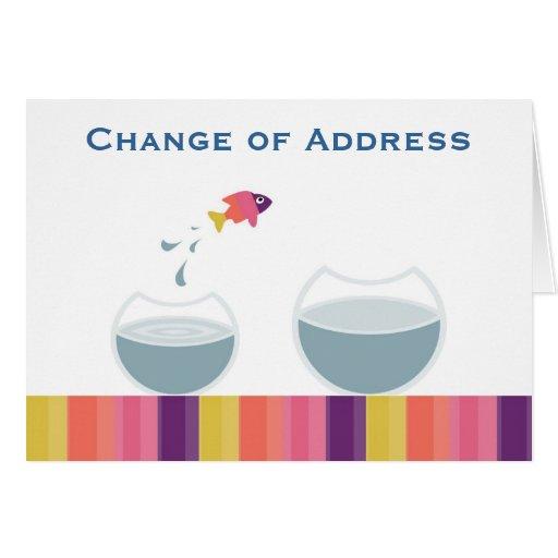Change of Address Greeting Card | Zazzle
