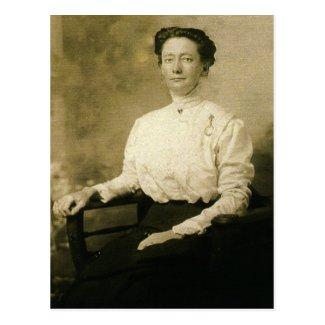 Charlotte E. 'Lottie' (JACOBS) ZARFOS circa 1910