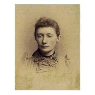 Charlotte 'Lottie' (JACOBS) ZARFOS, circa 1890