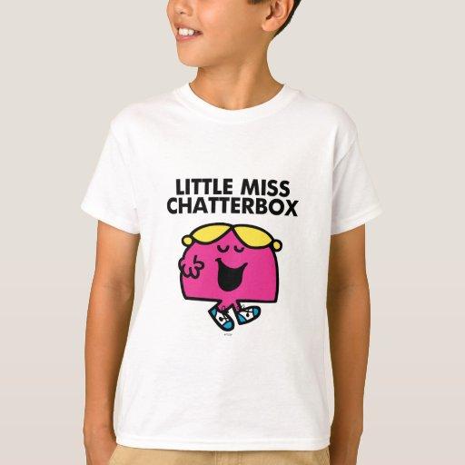 Little miss chatterbox t shirt womens