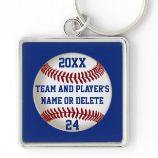 Cheap Baseball Keychains PERSONALIZED 3 Your Text