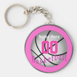 Cheap Basketball Gifts for Girls Team Key Chains