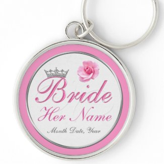 Cheap PERSONALIZED Gift Ideas for Bride to Be Keychain