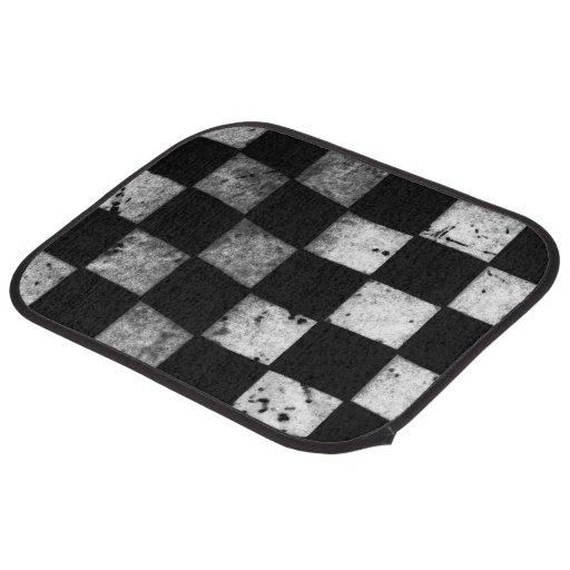 Checkered Mat: Checkered Flag Floor Mats Car Mat