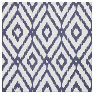blue diamond pattern fabric zazzle. Black Bedroom Furniture Sets. Home Design Ideas