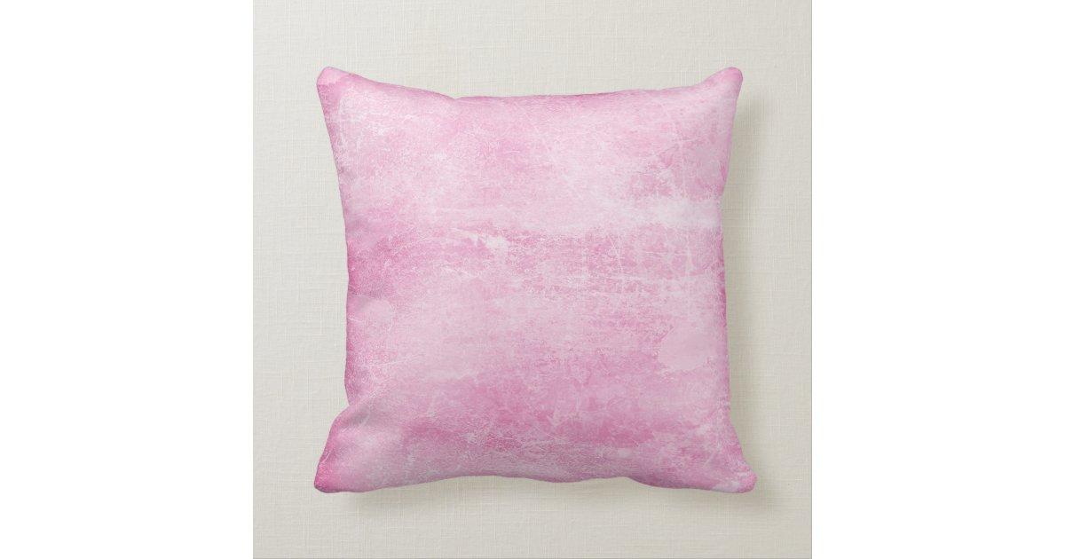 Chic Girly Pink Paris Fashion Pillow