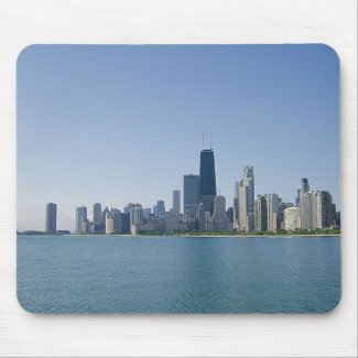 Chicago Across The Lake mousepad