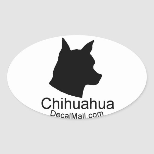 Chihuahua Auto Window Decal Sticker Zazzle