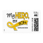 Childhood Cancer MY HERO MY SON 42 stamp