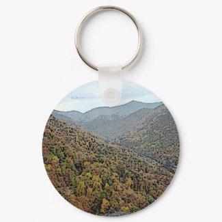 Chimney Rock, North Carolina keychain