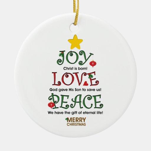 Vintage Religious Christmas Ornament: Christian Christmas Ornaments