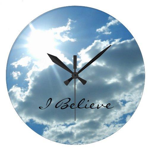 Christian Wall Clock Zazzle