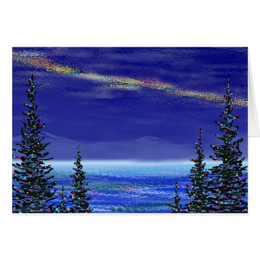 Christmas At The Lake: Christmas At Lake Tahoe Card