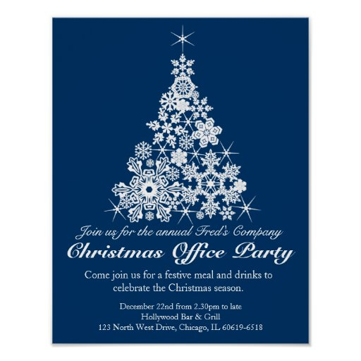 christmas party poster ideas - photo #15