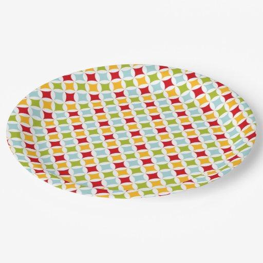 Christmas party sets paper plate | Zazzle