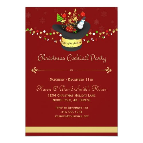 top 50 christmas cocktail party invitations 2015 holiday greeting card