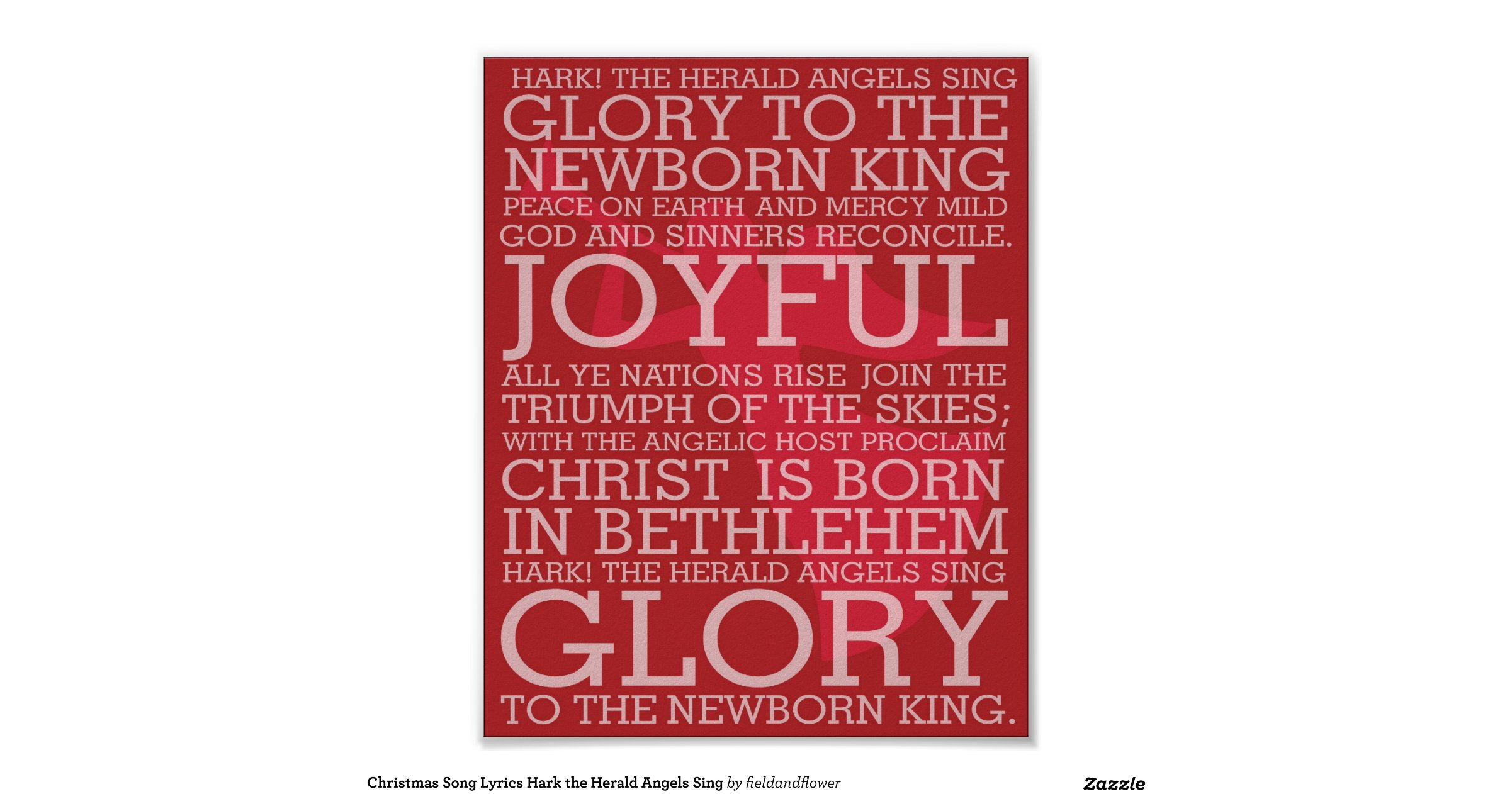 Christmas_song_lyrics_hark_the_herald_angels_sing_poster