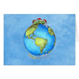 Christmas Wish - Peace on Earth Greeting Card