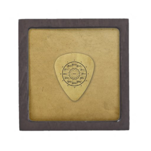 circle of fifths guitar pick collection gift box zazzle. Black Bedroom Furniture Sets. Home Design Ideas