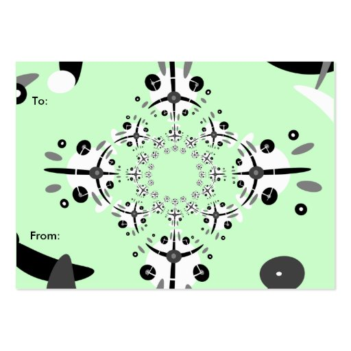 circle gift tag template - cirq de circle gift tag business card template zazzle