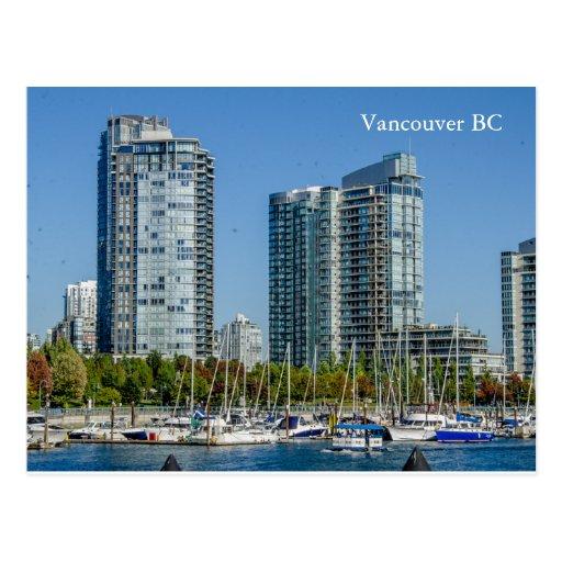 Vancouver Bc Beaches: City Near The Beach Vancouver BC Postcard