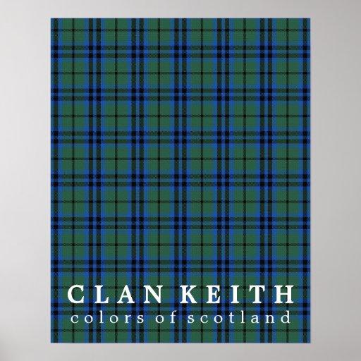 Coca Cola Gifts >> Clan Keith Colors of Scotland Tartan Poster | Zazzle