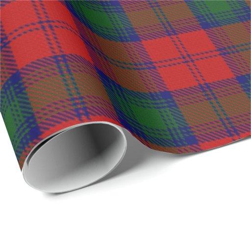 Clan Lindsay Lindsey Scottish Tartan Wrapping Paper Zazzle