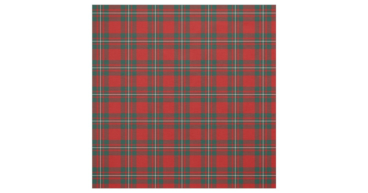 Clan Macgregor Tartan Fabric Zazzle