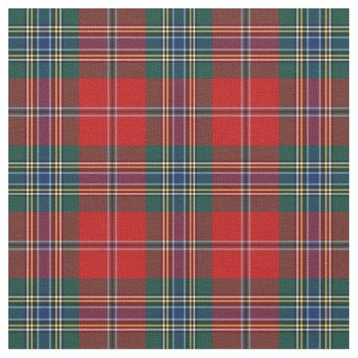 Clan Maclean Of Duart Tartan Fabric Zazzle