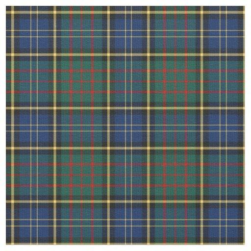 Clan Macmillan Modern Hunting Tartan Fabric Zazzle