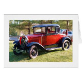 Classic Car Christmas Cards | Zazzle