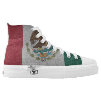 State Flag High Top Canvas Shoes
