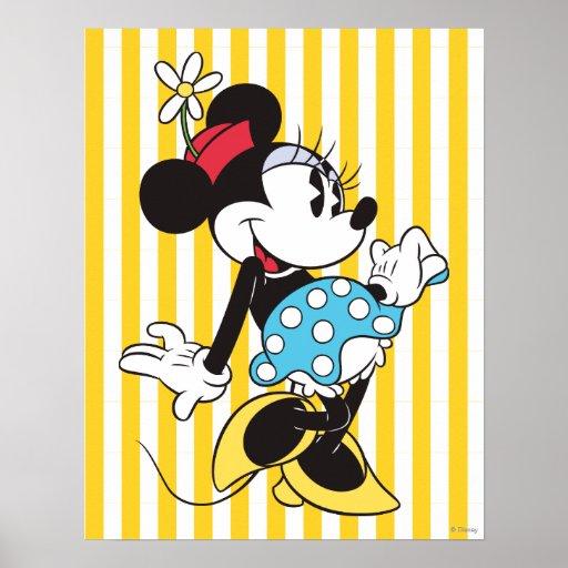 Classic Minnie Mouse 3 Print | Zazzle
