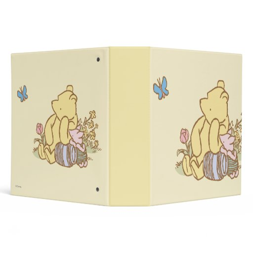 Classic Winnie The Pooh And Piglet 1 Binders