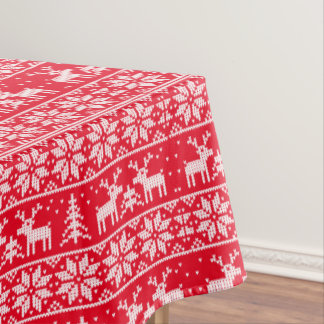 Classic Xmas. pattern Tablecloth