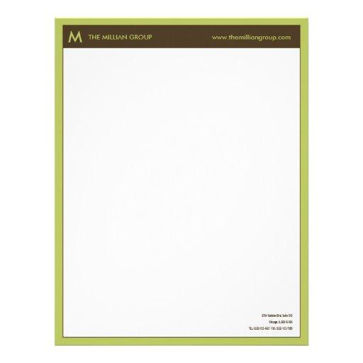 Clean Corporate Letterhead Template: Clean Corporate Letterhead