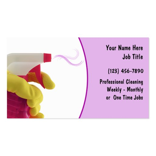 Samples of Cleaning Business Cards | ... Business Cards ... |Commercial Cleaning Cards