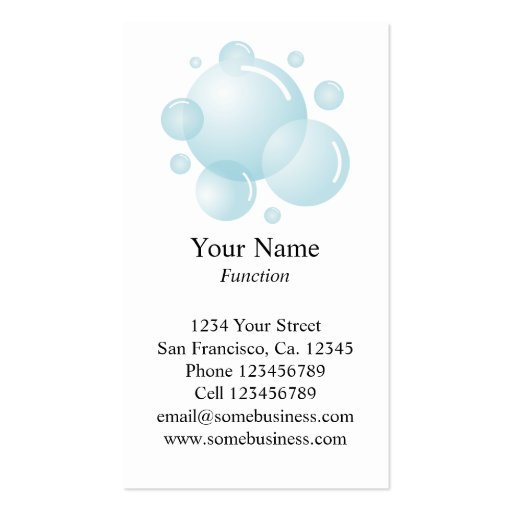 cleaning service business card template vertical zazzle. Black Bedroom Furniture Sets. Home Design Ideas