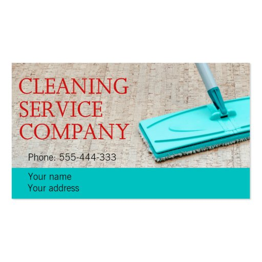 cleaning service double sided standard business cards. Black Bedroom Furniture Sets. Home Design Ideas