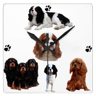 Dog Paw Wall Clocks Zazzle