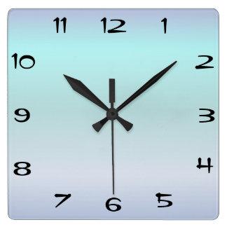 Square Face Wall Clocks Zazzle