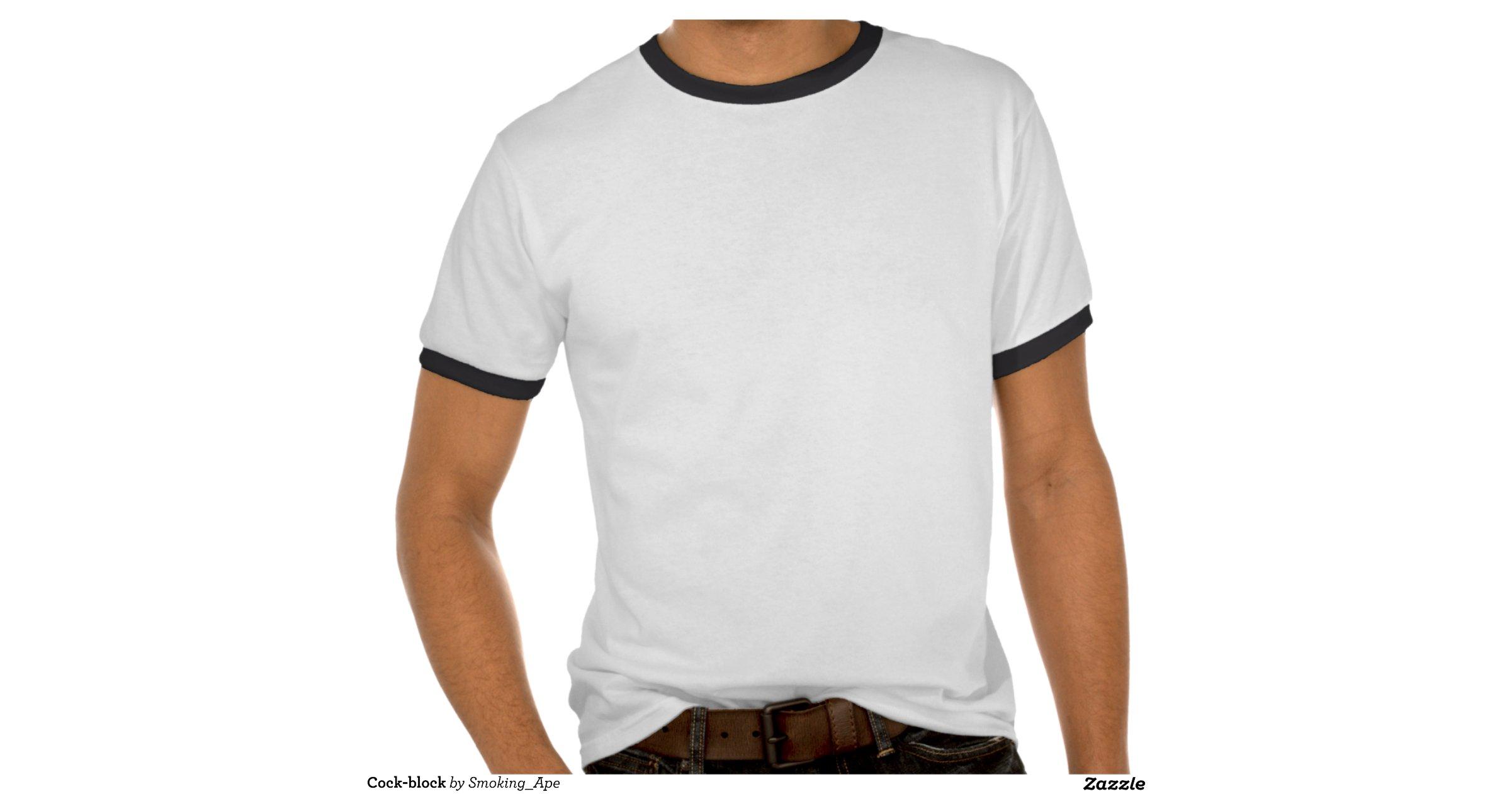 Cock Block T Shirt 110