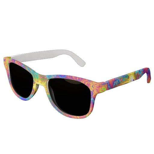 Colliding Dweeb Ballz Psychedelic Sunglasses | Zazzle