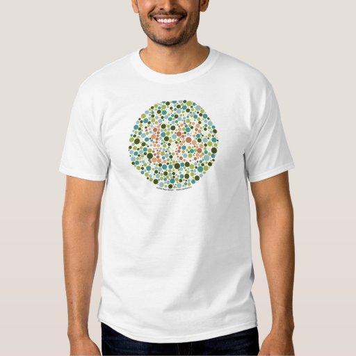 Color Blind Test T Shirt Zazzle
