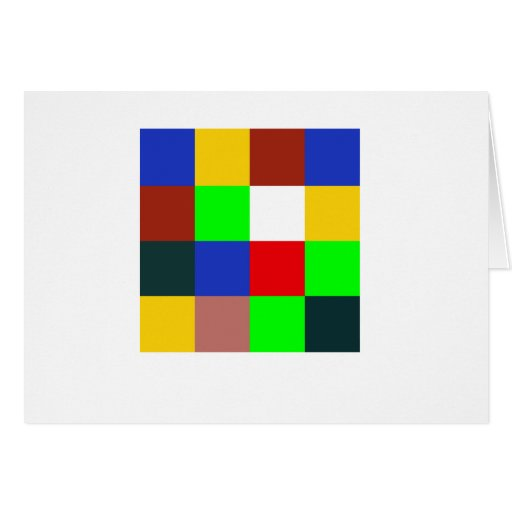 Color Scheme From Bauhaus Card