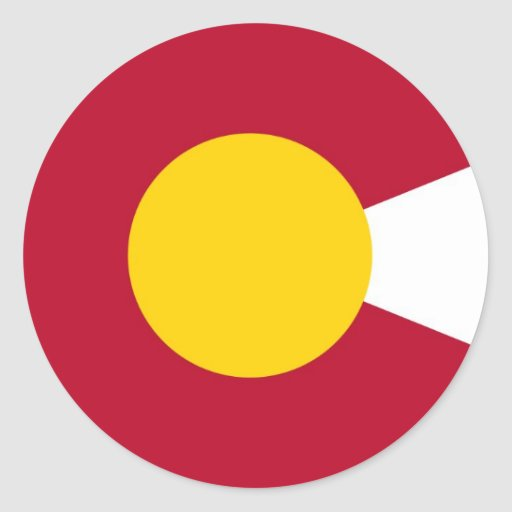 Colorado Flag C Sticker | Zazzle  Colorado Flag C...