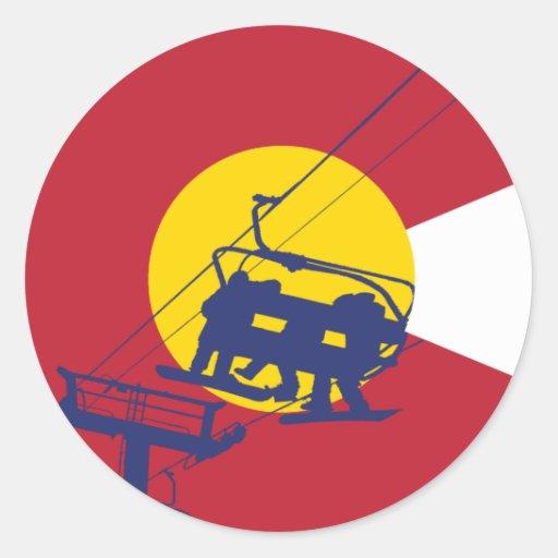 Colorado Flag Sticker | Zazzle  Colorado Flag S...